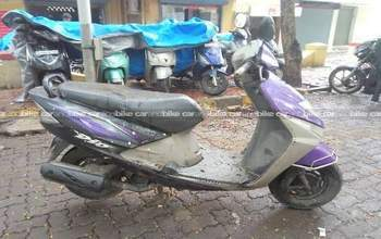 Honda Dio Std Left Side