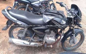 Honda Cb Shine Dx Left Side