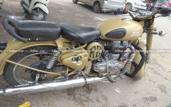 Royal Enfield Classic 500 Std Left Side