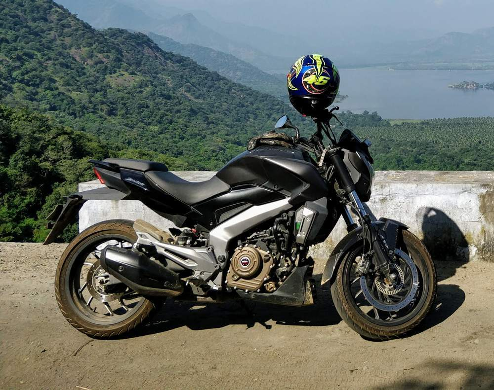 Bajaj Dominar 400 Rear View