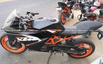 Ktm Rc 200 Std Rear View
