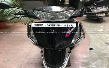 Hero Pleasure Self Start Drum Brake Rear Tyre