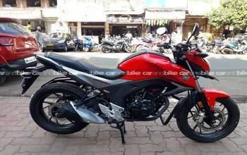 Honda Cb Hornet 160r Cbs Left Side
