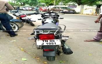 Hero Honda Splendor Plus Std Left Side