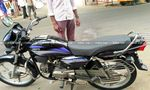 Hero Honda Splendor Plus Std Rear View