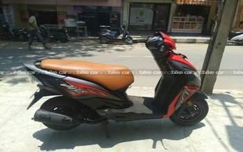 Honda Dio Dlx Left Side