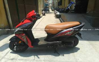 Honda Dio Dlx Rear View