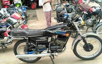 Yamaha Rx 135 Std Left Side