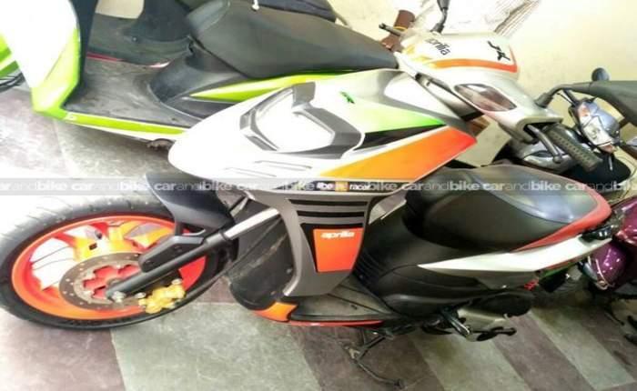 Used Aprilia Sr 150 Bike in Chennai 2017 model, India at ...