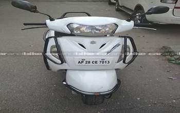 Suzuki Access 125 Drum Brake Rear Tyre