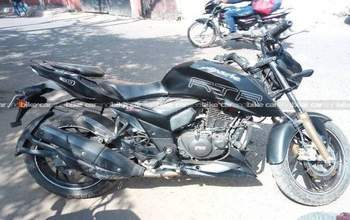 Tvs Apache Rtr 200 4v Std Left Side