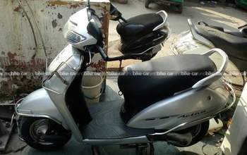 Honda Activa Dlx Rear View