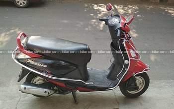 Hero Honda Pleasure Std Left Side