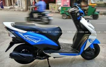 Honda Dio Dlx Left Side