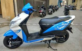 Honda Dio Dlx Rear View