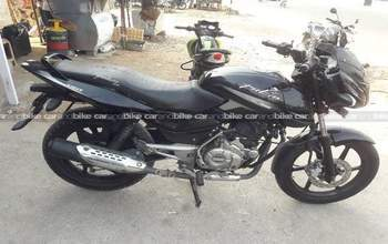 Bajaj Pulsar 150 Std Left Side