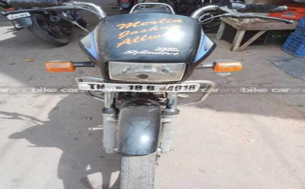 Hero Honda Splendor Plus Std Front View