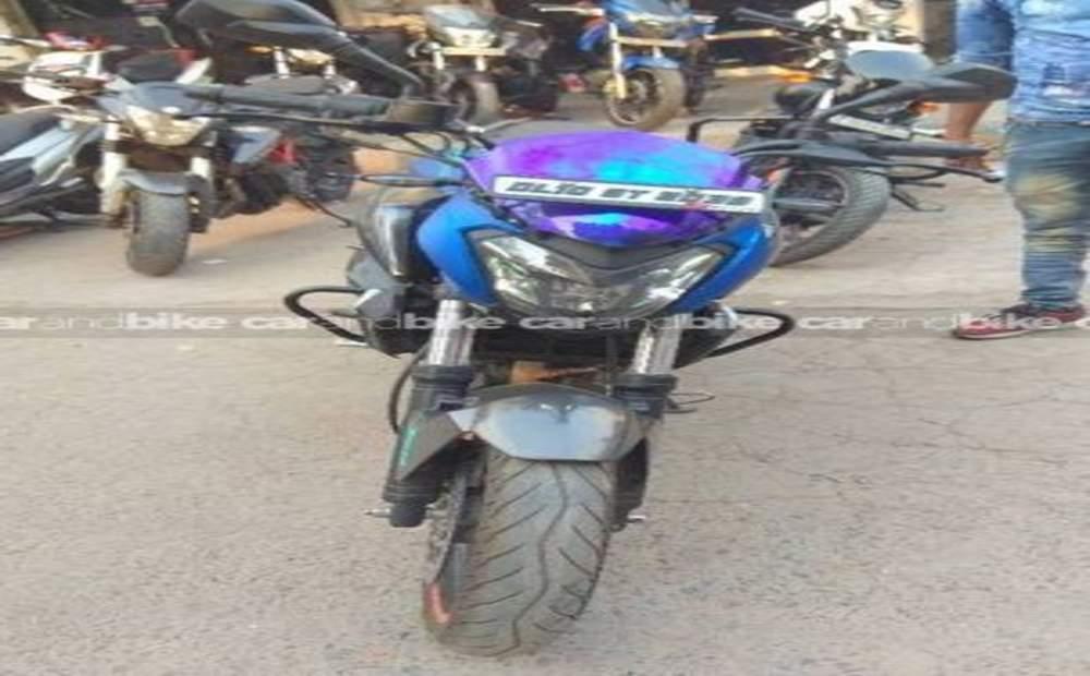Bajaj Dominar 400 Disc Brake Front View
