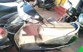 Honda Activa Dlx Rear View