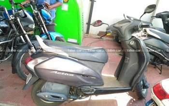 Honda Activa Dlx Left Side