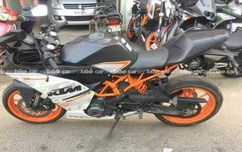 Ktm Rc 390 Std Right Side
