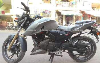Tvs Apache Rtr 200 4v Std Right Side