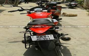 Mahindra Mojo Std Left Side
