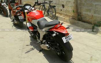 Mahindra Mojo Std Right Side