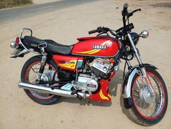 Yamaha Rx 135 Left Side