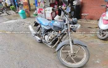 Bajaj Discover 110 Std Left Side