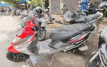 Honda Dio Std Rear View
