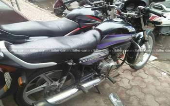 Hero Honda Cd Deluxe Std Left Side