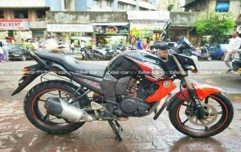 Yamaha Fz 16 Std Left Side