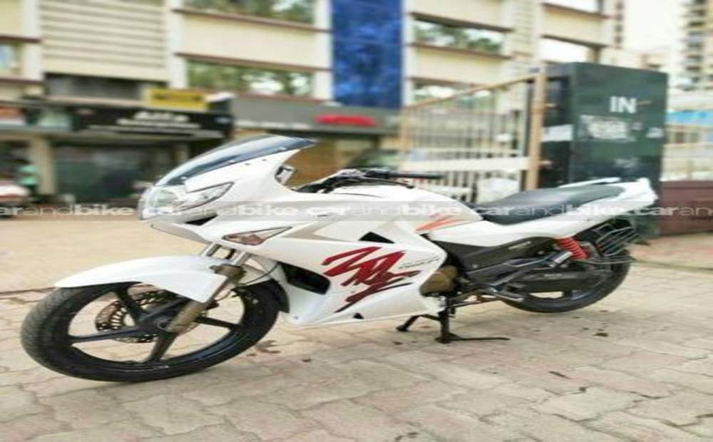 Hero Karizma Zmr Std Front View