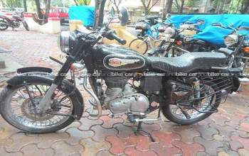 Royal Enfield Bullet 350 Std Rear View