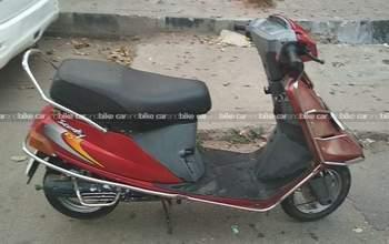 Tvs Scooty Teenz E Bike Left Side