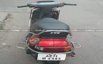 Tvs Scooty Teenz E Bike Right Side