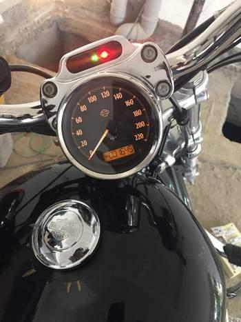 Harley Davidson 1200 Custom Right Side