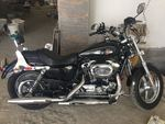 Harley Davidson 1200 Custom Left Side