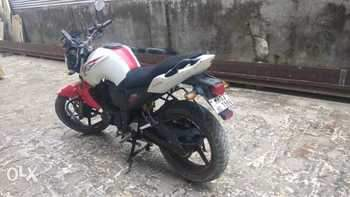Yamaha Fz Left Side