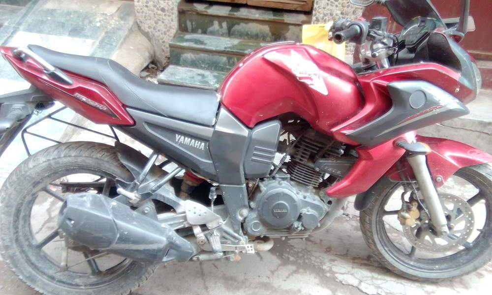 Yamaha Fazer Front View