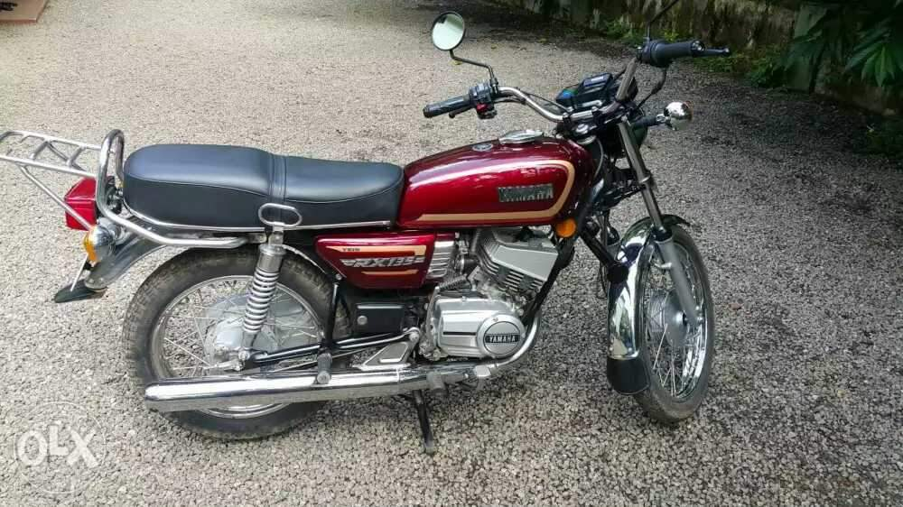 Yamaha Rx 135 Front View