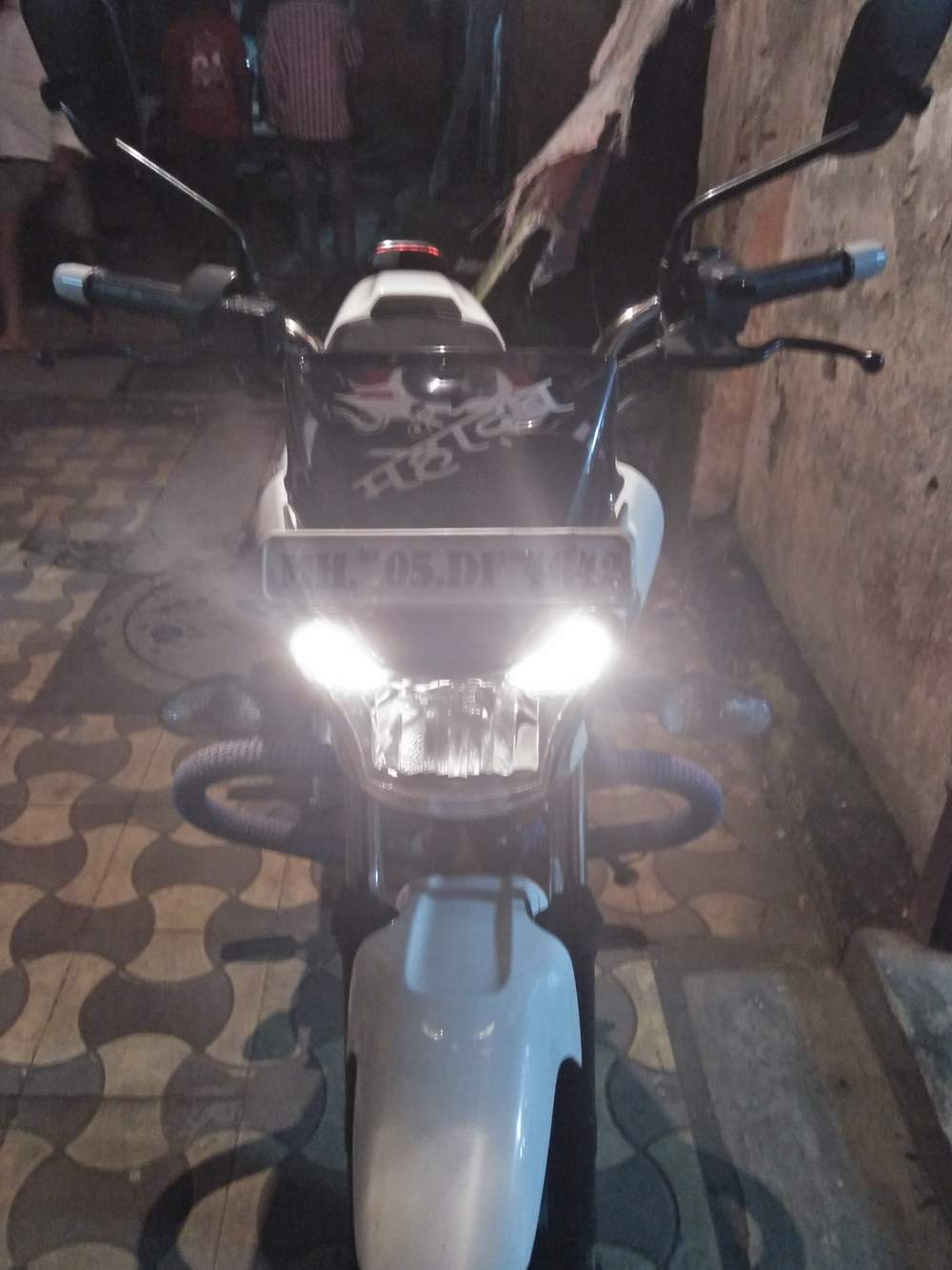 Bajaj V15 Rear View