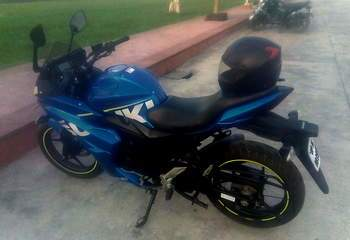 Suzuki Gixxer Sf Left Side