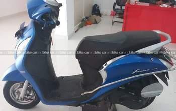 Yamaha Fascino Std Rear Tyre