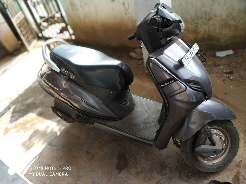 Honda Activa 3g Rear View