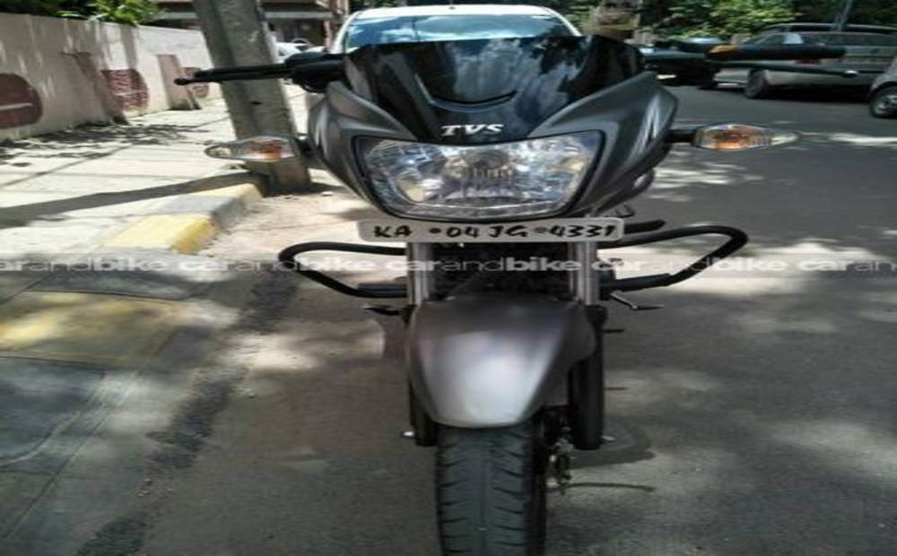Tvs Star City Plus Self Start Front View
