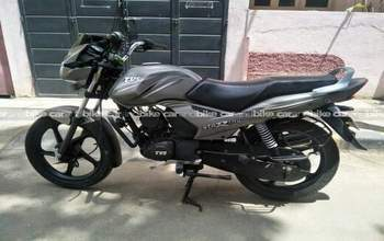 Tvs Star City Plus Self Start Left Side