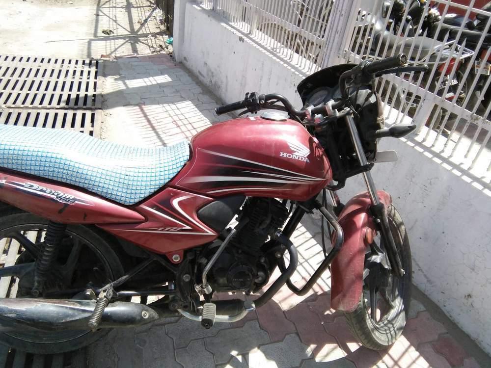 Honda Dream Yuga Rear View
