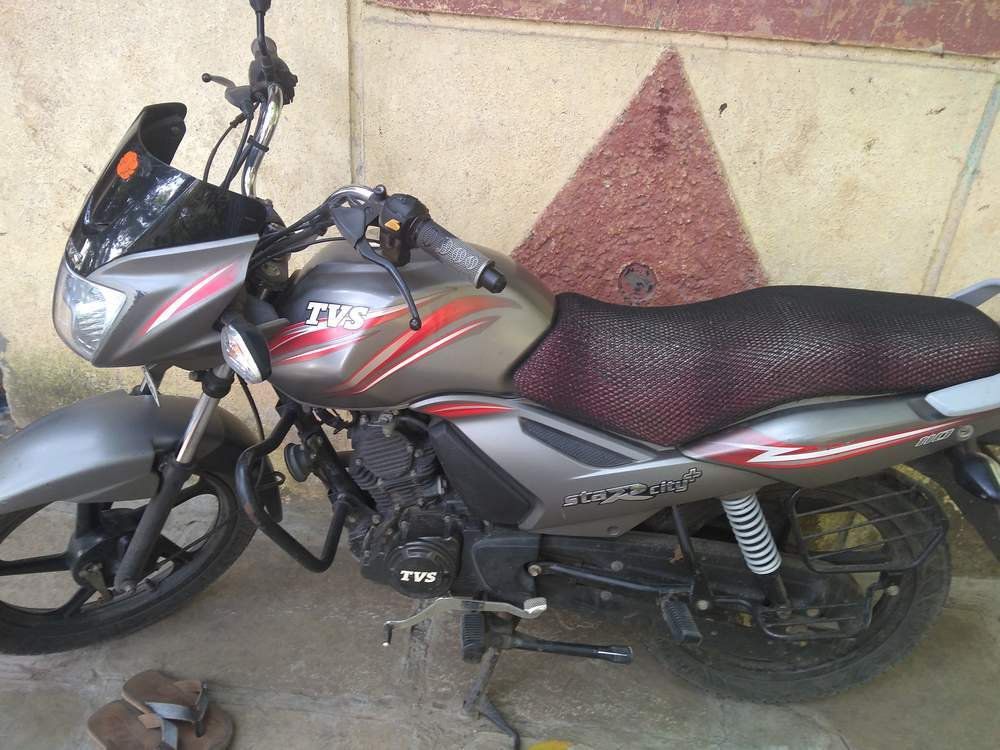 Tvs Star City Plus Front View